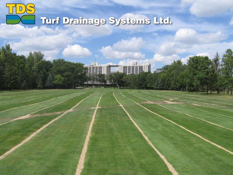 Turf Drainage Systems Ltd Slit Drainage